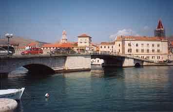 Bridge to Trogir
