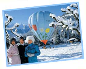 Alps by Balloon